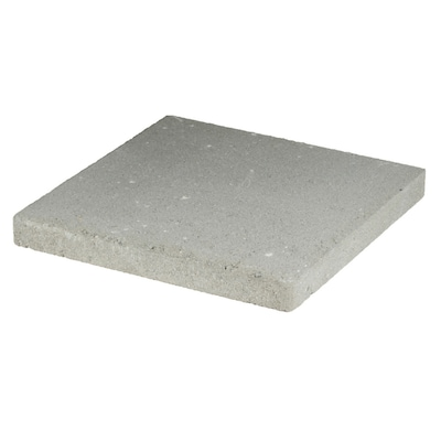 undefined Square Gray Concrete Patio Stone (Common: 16-in x 16-in; Actual: 16-in x 16-in)