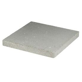 Square Gray Concrete Patio Stone (Common: 16 In X; Actual: 16