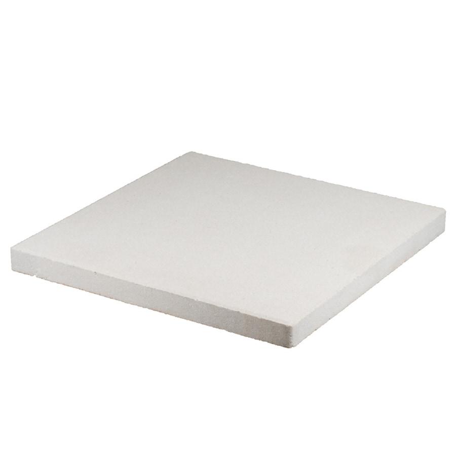 White Square Patio Stone (Common: 16-in x 16-in; Actual: 15.7-in x 15.7-in)