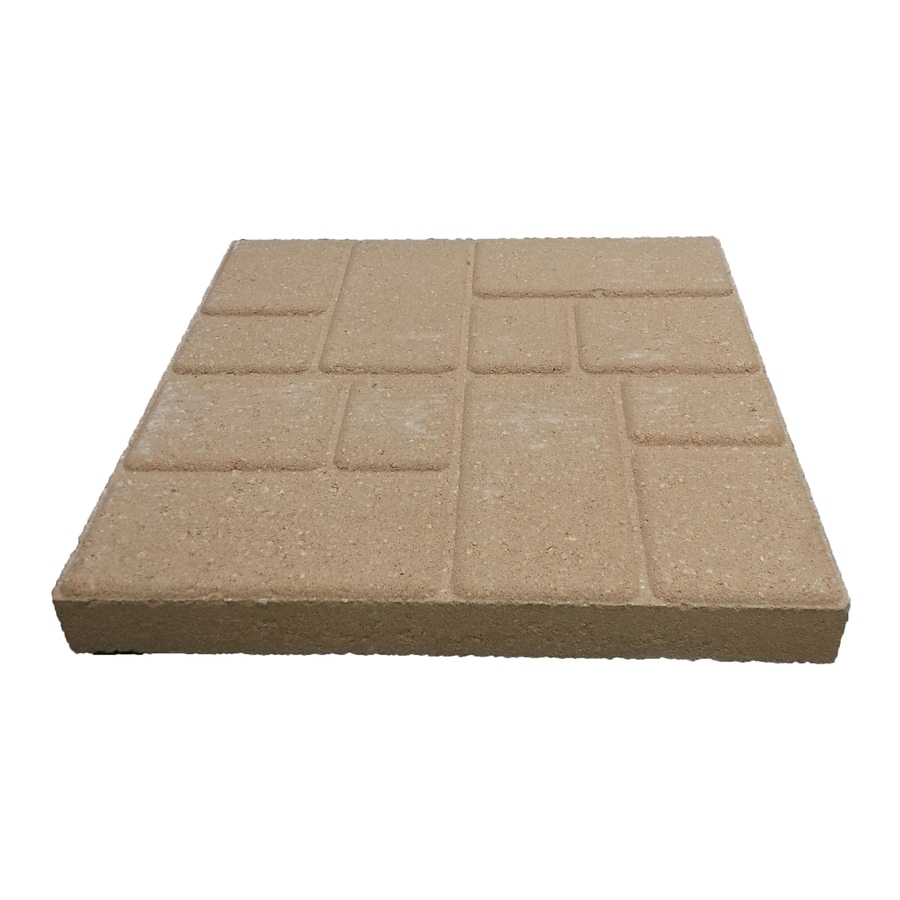 Oldcastle Square Everglade Patio Stone (Common: 16-in x 16-in; Actual: 15.6-in x 15.6-in)