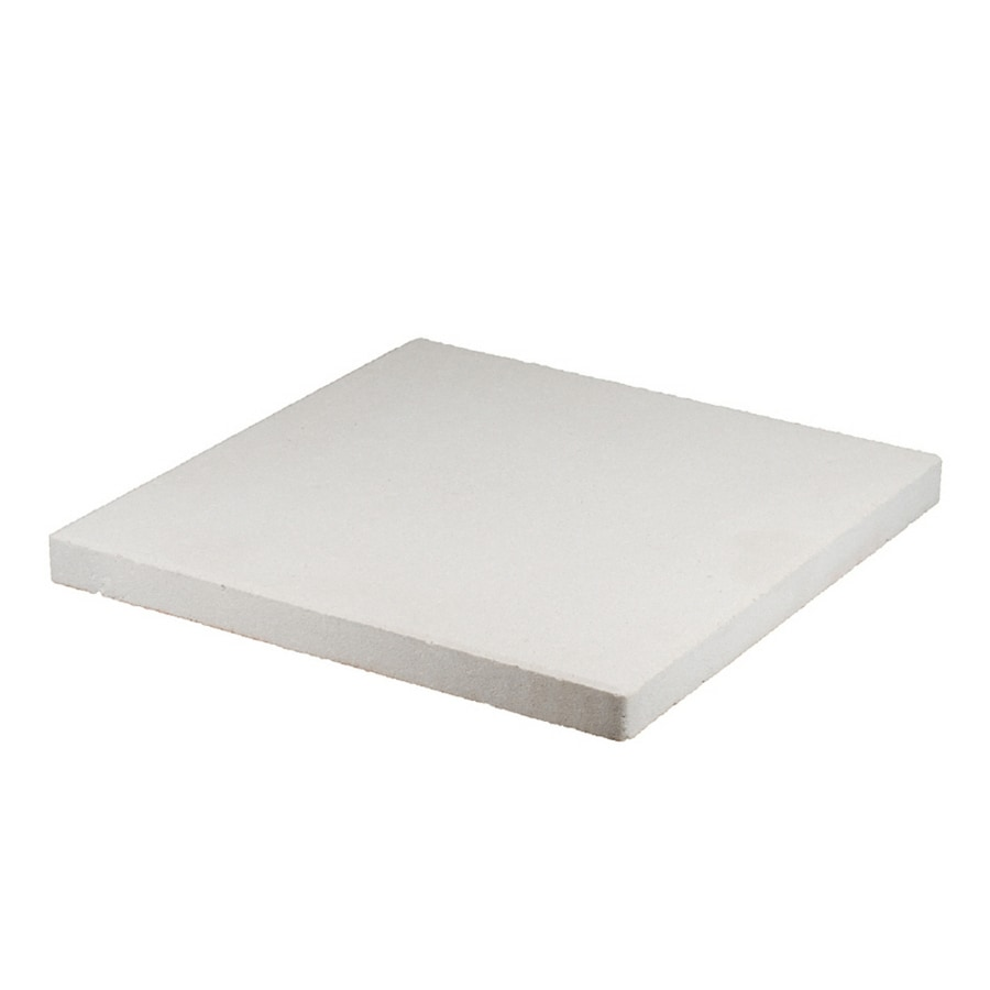 Square White Patio Stone (Common: 23 In X 23 In; Actual