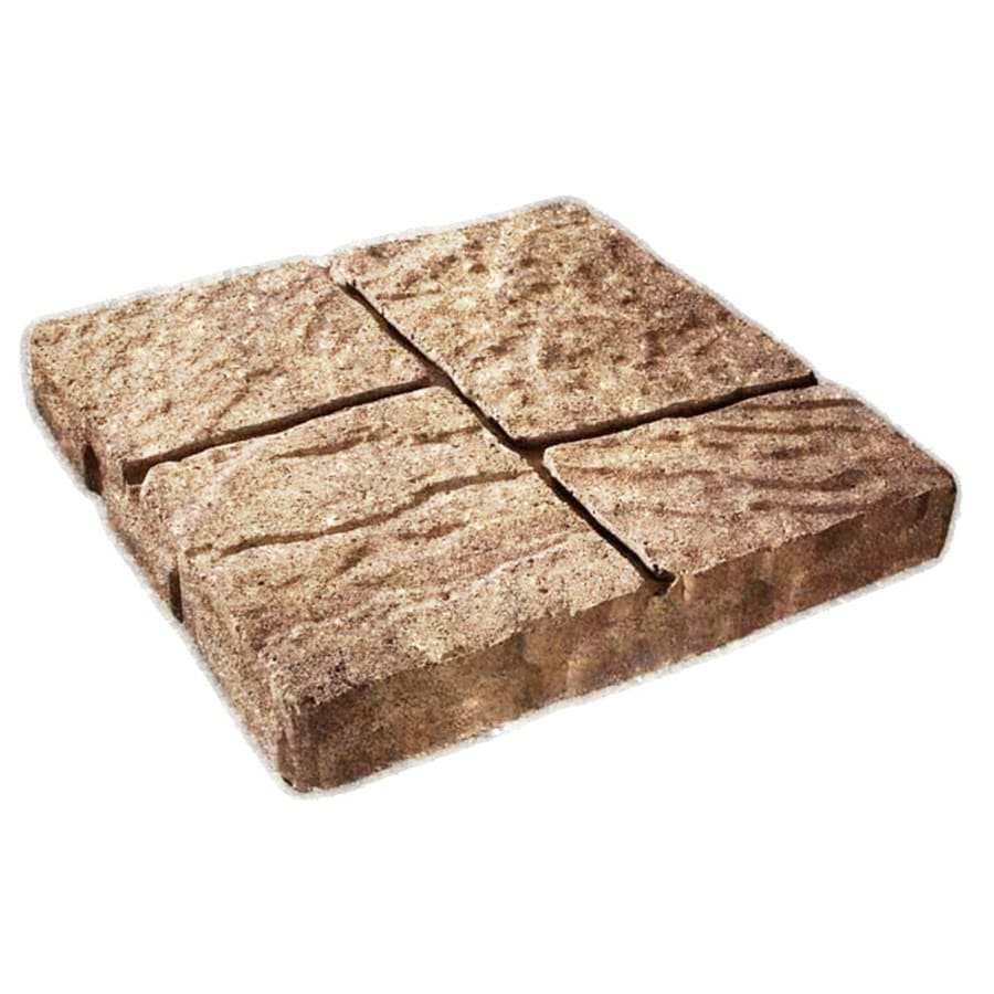 Four Cobble Tan Sand Patio Stone (Common: 16 In X 16 In