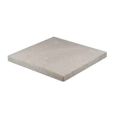 Square Gray Concrete Patio Stone (Common: 20-in x