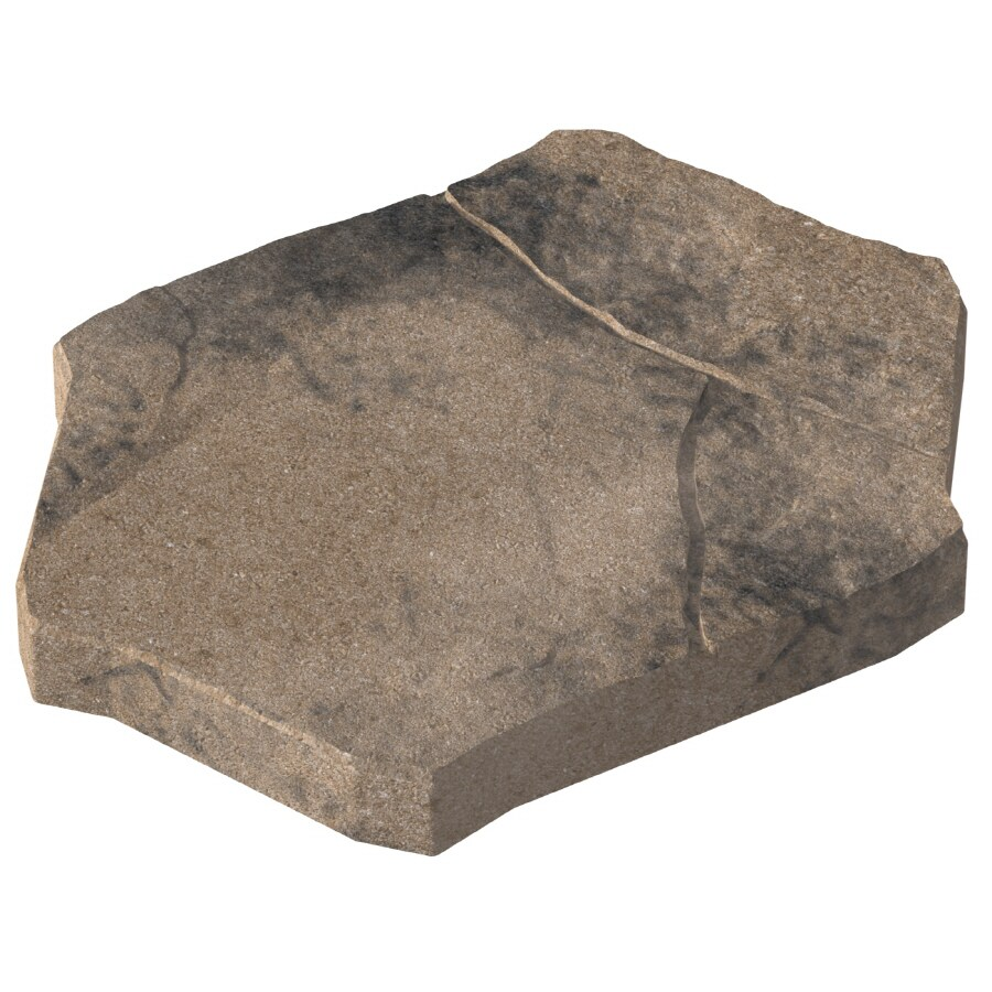 Tan Charcoal Patio Stone (Common: 15-in x 20-in; Actual: 14.5-in x 19.5-in)
