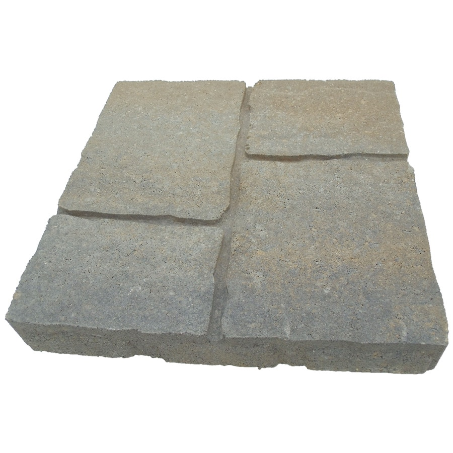 Oldcastle Four Cobble Arcadian Patio Stone (Common: 16-in x 16-in; Actual: 15.7-in x 15.7-in)