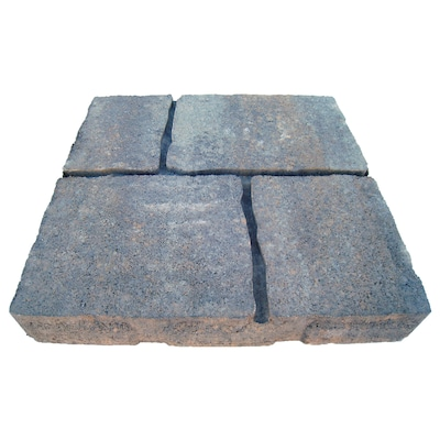 undefined Four cobble Allegheny Concrete Patio Stone (Common: 16-in x 16-in; Actual: 15.7-in x 15.7-in)
