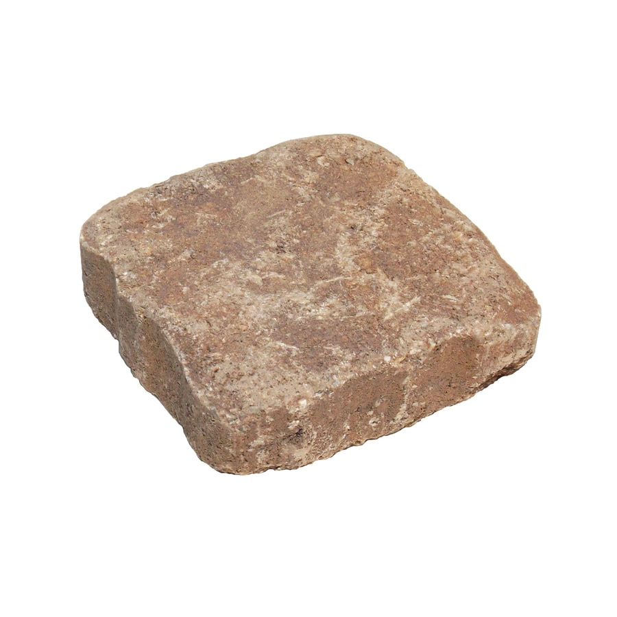 Countryside Jaxon Patio Stone (Common: 6-in x 6-in; Actual: 5.8-in x 5.8-in)