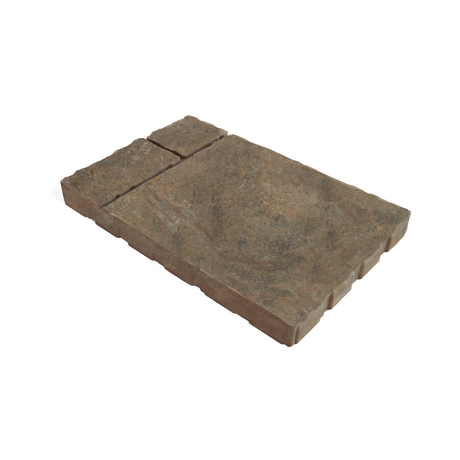 Cobble Stone Duncan Patio Stone (Common: 16-in x 24-in; Actual: 15.6-in x 23.5-in)