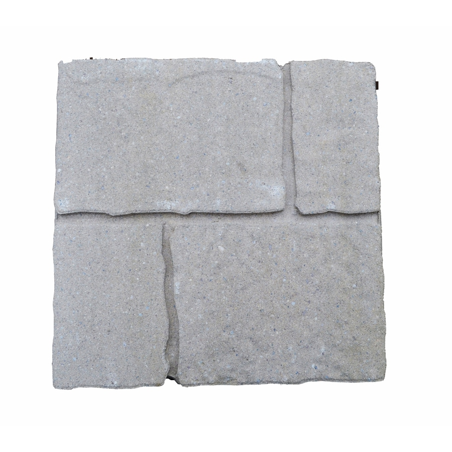 Cobble Stone Sand Hill Patio Stone (Common: 16-in x 16-in; Actual: 15.7-in x 15.7-in)