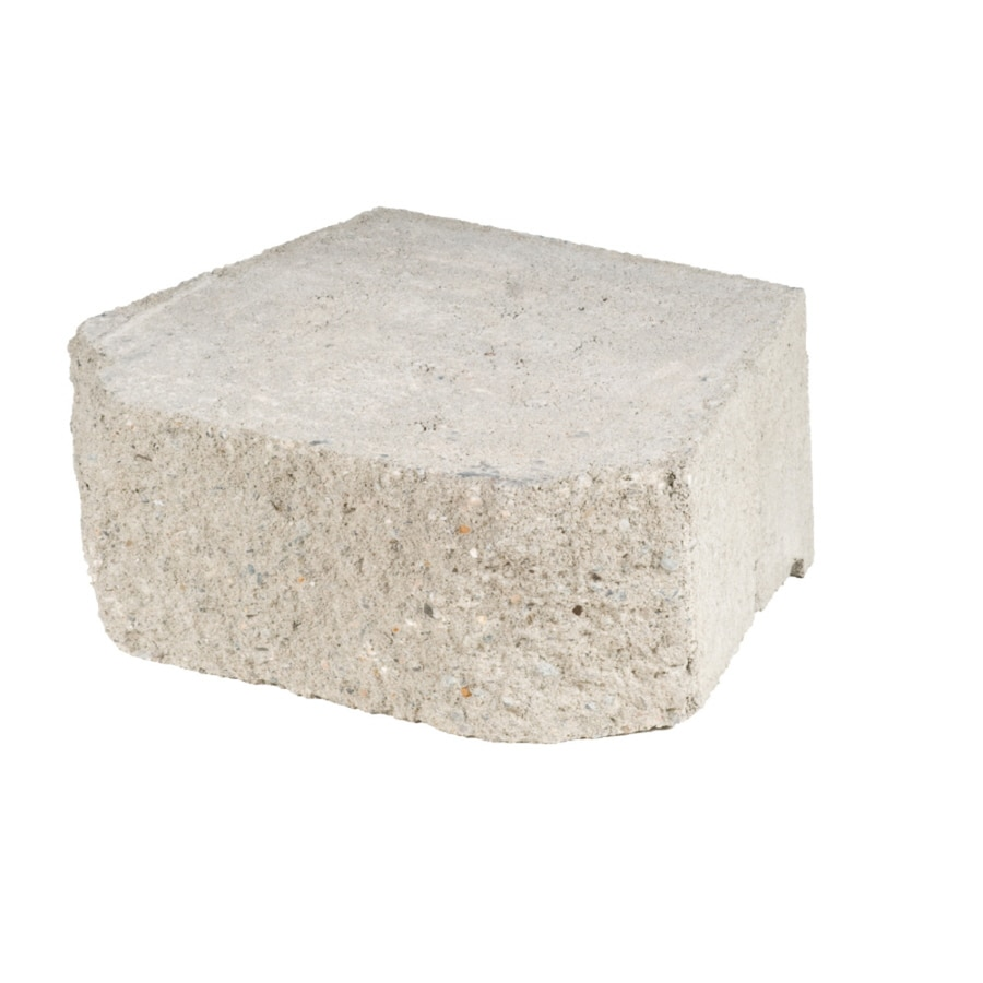 Gray Diamond Wall Retaining Wall Block (Common: 11-in x 16-in; Actual: 11-in x 15.8-in)