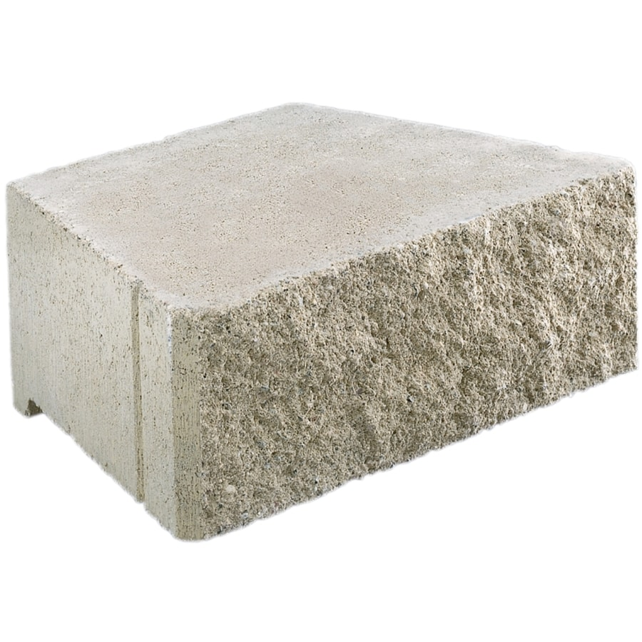 Basic Gray Retaining Wall Block (Common: 6-in x 17-in; Actual: 6-in x 15.6-in)