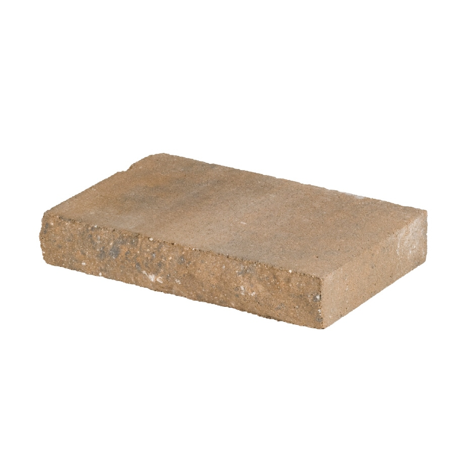 allen + roth Cassay 12-in L x 2-in H Tan Chiselwall Retaining Wall Cap (Actuals 12-in L x 2-in H)