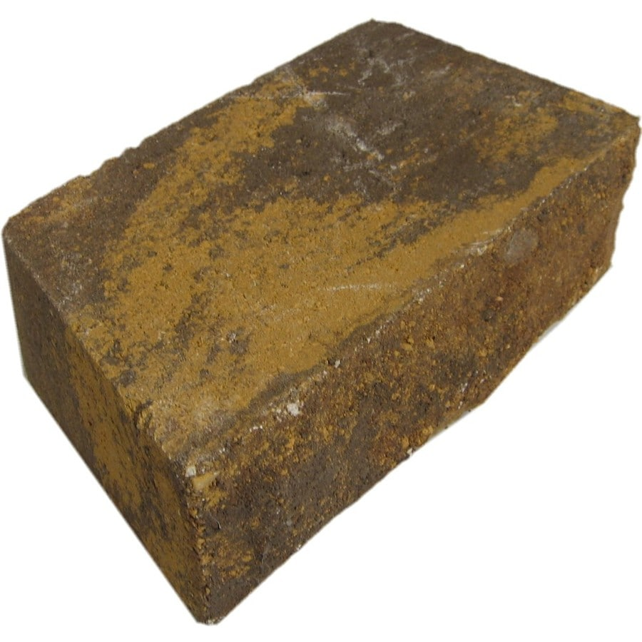 Chiselwall Harvest Blend Retaining Wall Block (Common: 10-in x 12-in; Actual: 9.2-in x 12-in)