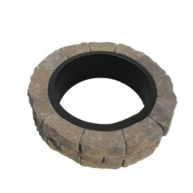 Firepit Kit 43.5 In W X 43.5 In L Tranquil Concrete Fire Pit Kit
