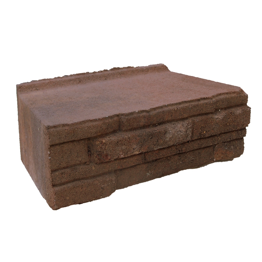 allen + roth Ledgewall Autumn Blend Retaining Wall Block (Common: 4-in x 12-in; Actual: 4-in x 12.1-in)