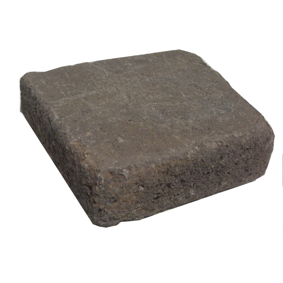 Tranquil Blend Retaining Wall Cap (Common: 10-in x 12-in; Actual: 10-in x 11.8-in)