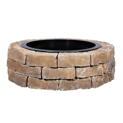 43 5 In L Ashland Concrete Fire Pit Kit