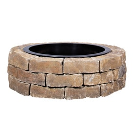 Exceptional 43.5 In W X 43.5 In L Ashland Concrete Firepit Kit