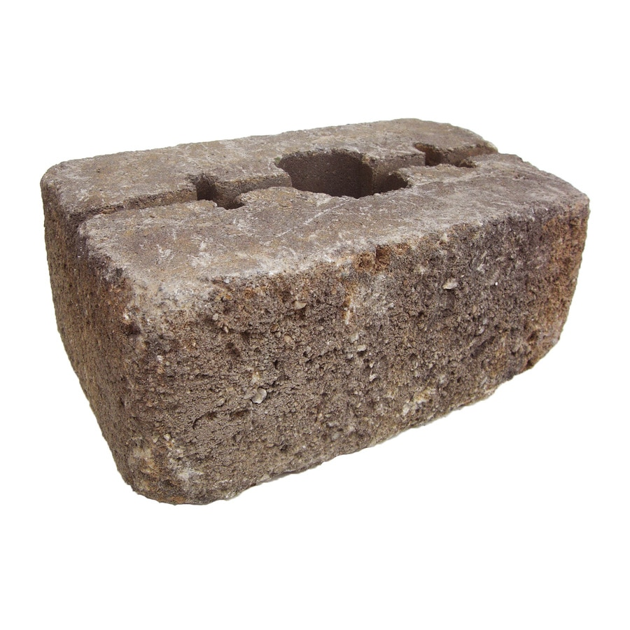 Ashland Blend Retaining Wall Block (Common: 14-in x 16-in; Actual: 14.2-in x 15.7-in)