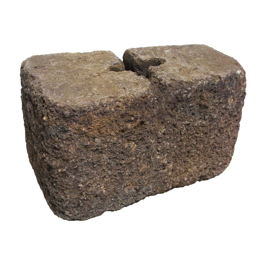 Ashland Blend Retaining Wall Block (Common: 4-in x 6-in; Actual: 4-in x 6-in)