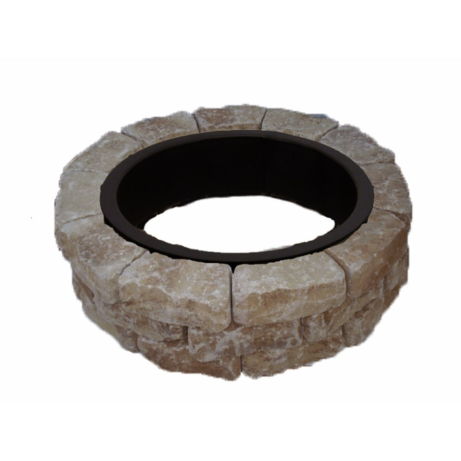 43.5-in W x 43.5-in L Veranda Concrete Firepit Kit