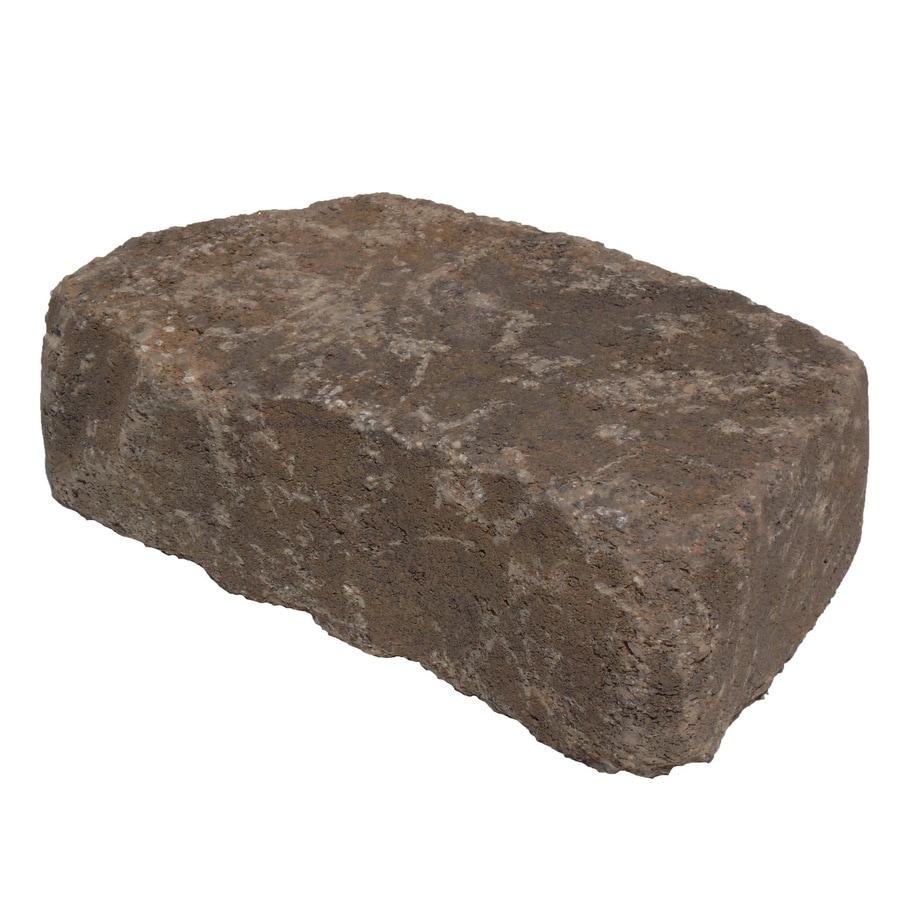 Flagstone Tranquil Retaining Wall Block (Common: 3-in x 8-in; Actual: 3-in x 8.2-in)