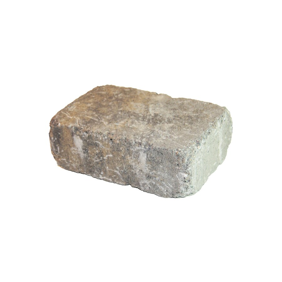 Peyton Olde Manor Retaining Wall Block (Common: 12-in x 12-in; Actual: 11.5-in x 11.5-in)