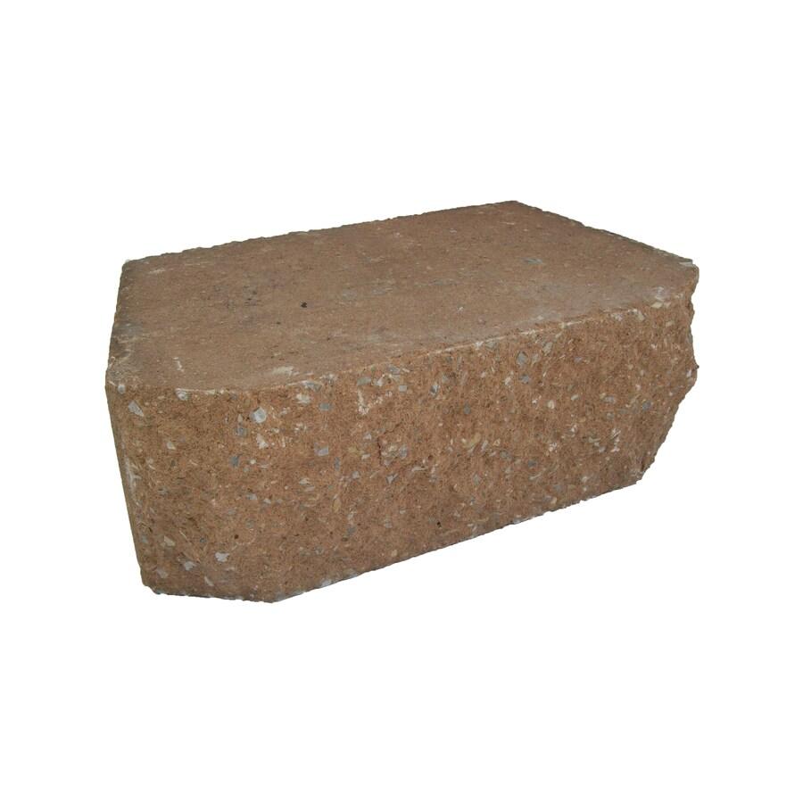 Basic Tan Retaining Wall Block (Common: 6-in x 18-in; Actual: 6-in x 17.7-in)