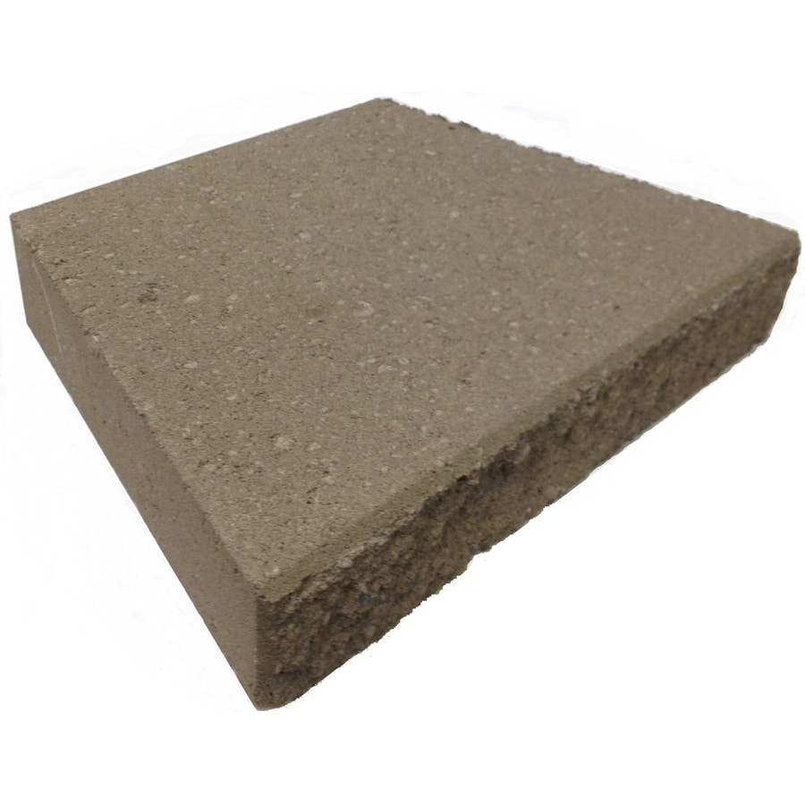 Basic Tan/Brown Retaining Wall Cap (Common: 3-in x 17-in; Actual: 3-in x 18-in)