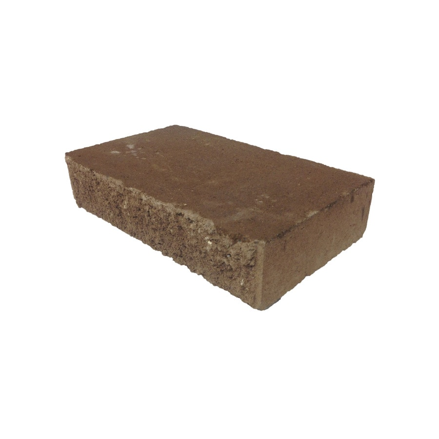 Keystone Brown Retaining Wall Cap (Common: 4-in x 18-in; Actual: 4-in x 18-in)