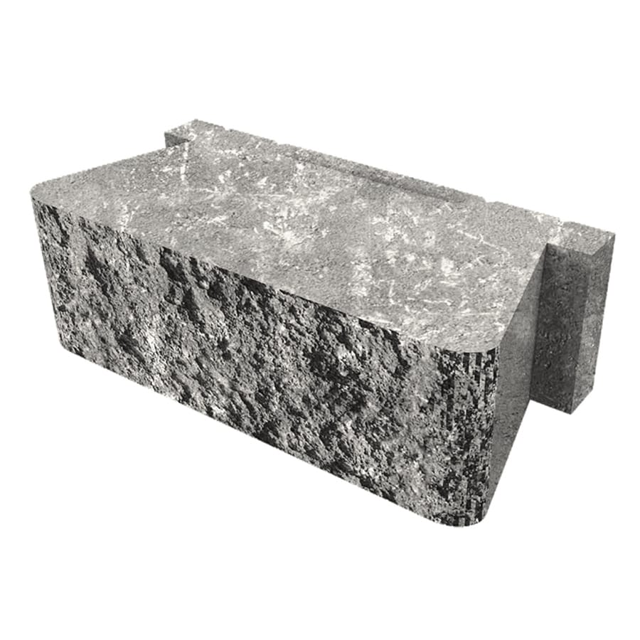 Palmer Wall Sable Retaining Wall Block (Common: 16-in x 16-in; Actual: 16-in x 16-in)