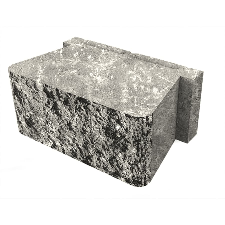 Belgard Palmer Sable Retaining Wall Block (Common: 5-in x 12-in; Actual: 5.3-in x 12-in)