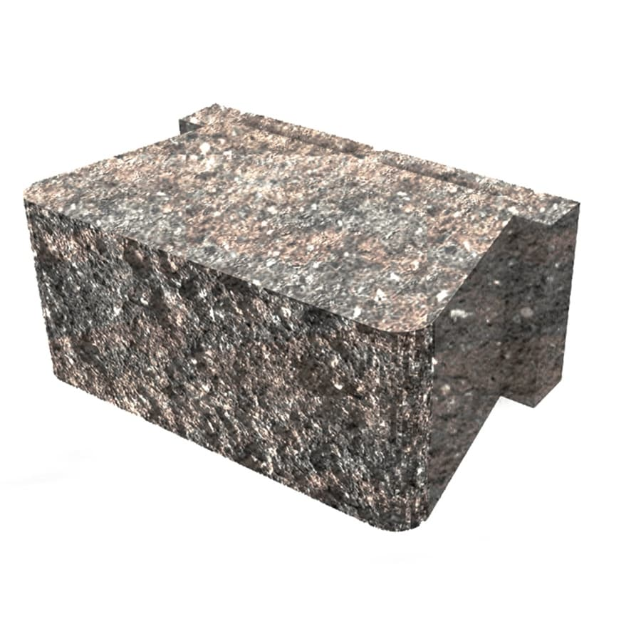 Palmer Wall Carolina Retaining Wall Block (Common: 12-in x 12-in; Actual: 12-in x 12-in)