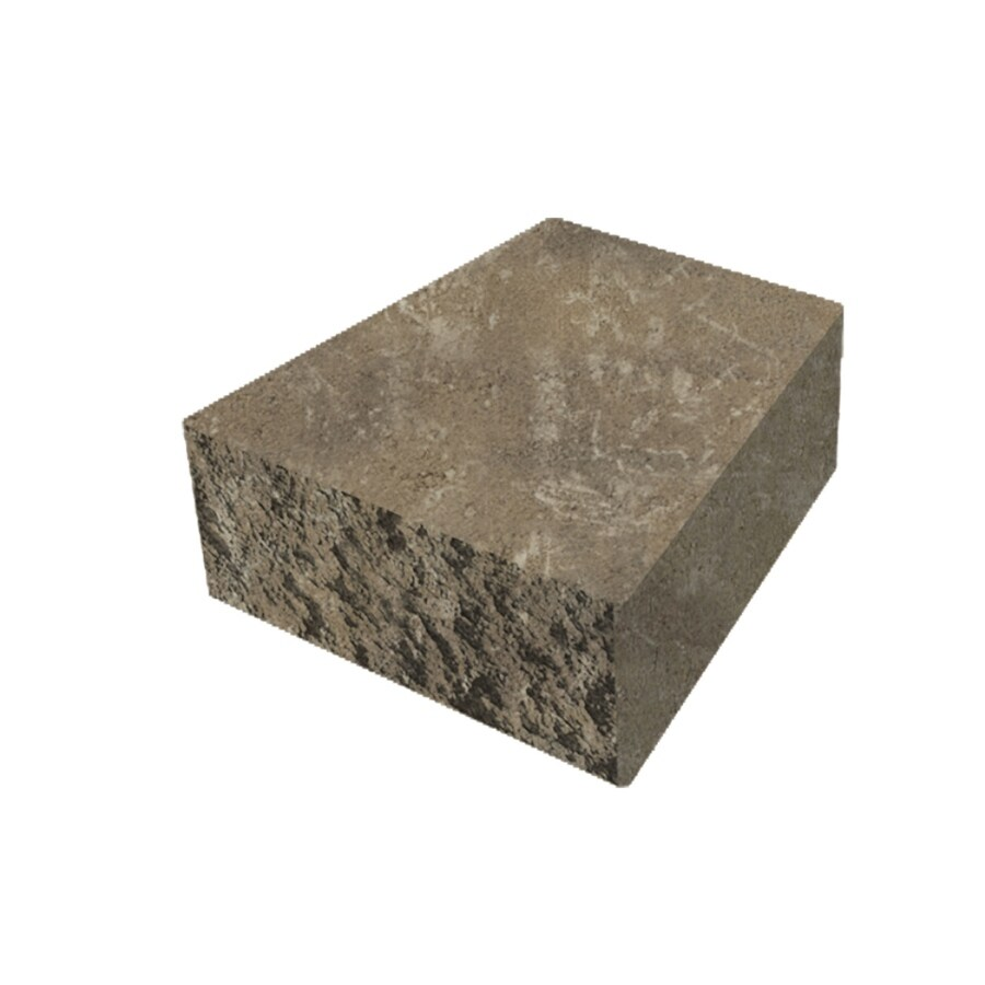 Belgard Palmer Cotswold Mist Retaining Wall Cap (Common: 3-in x 8-in; Actual: 3-in x 8-in)