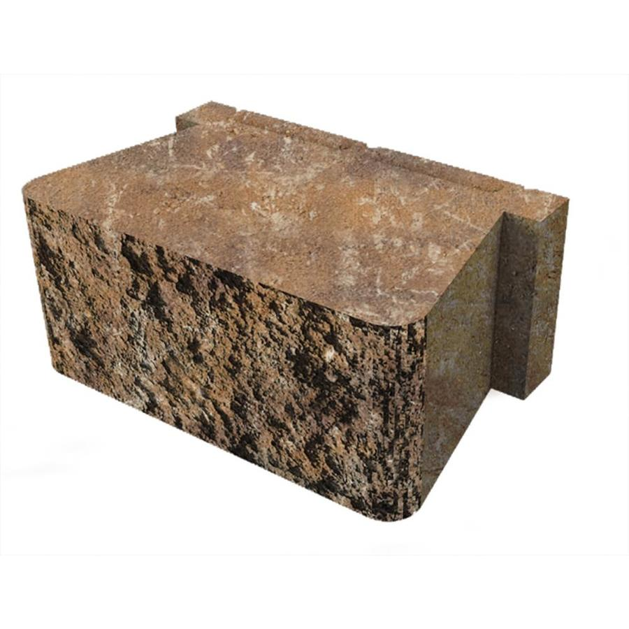 Belgard Palmer Toscana Retaining Wall Block (Common: 5-in x 12-in; Actual: 5.3-in x 12-in)