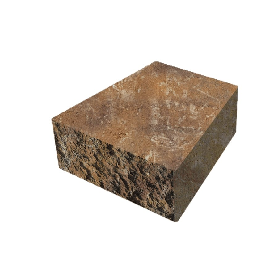 Belgard Palmer Wall Toscana Retaining Wall Cap (Common: 6-in x 8-in; Actual: 6-in x 8-in)