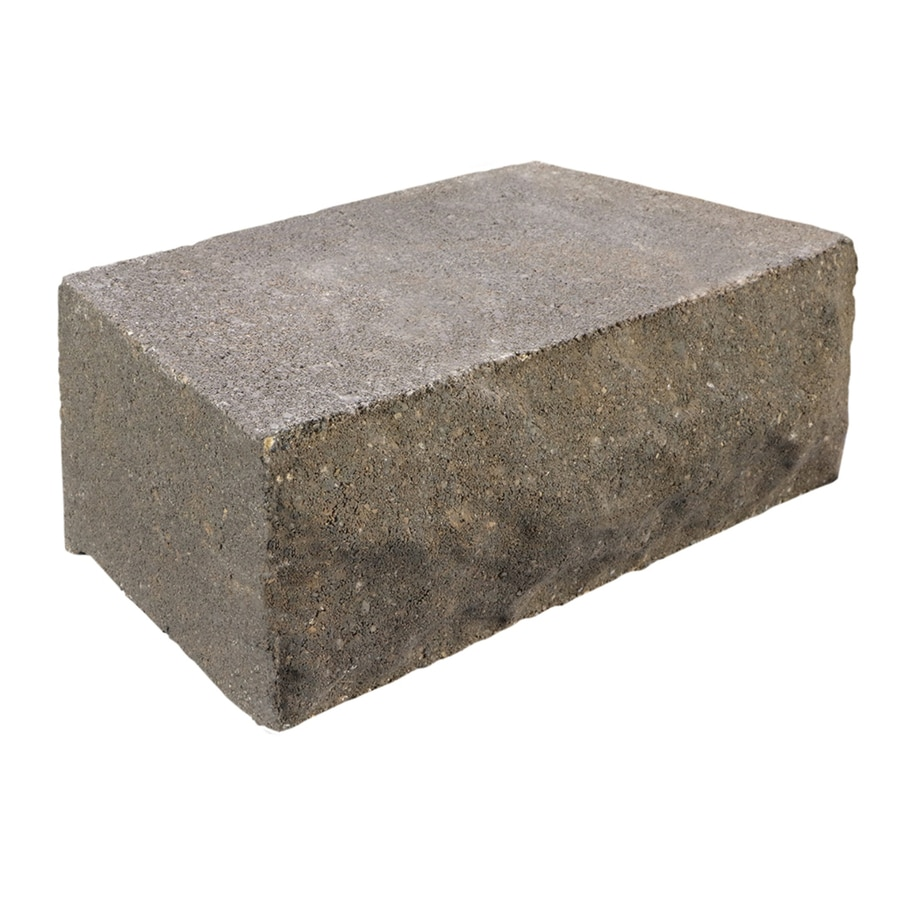 Shop Chiselwall Ashland Retaining Wall Block Common 4 in