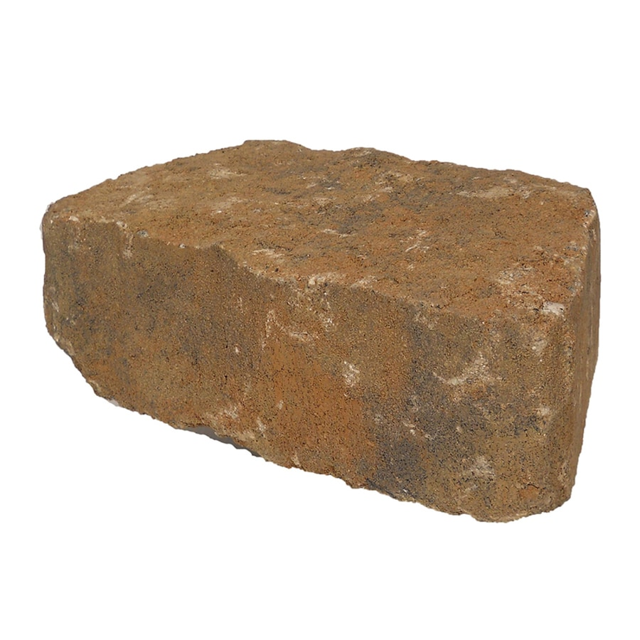 Northwoods Mini Flagstone Retaining Wall Block (Common: 6-in x 8-in; Actual: 6.2-in x 8.2-in)