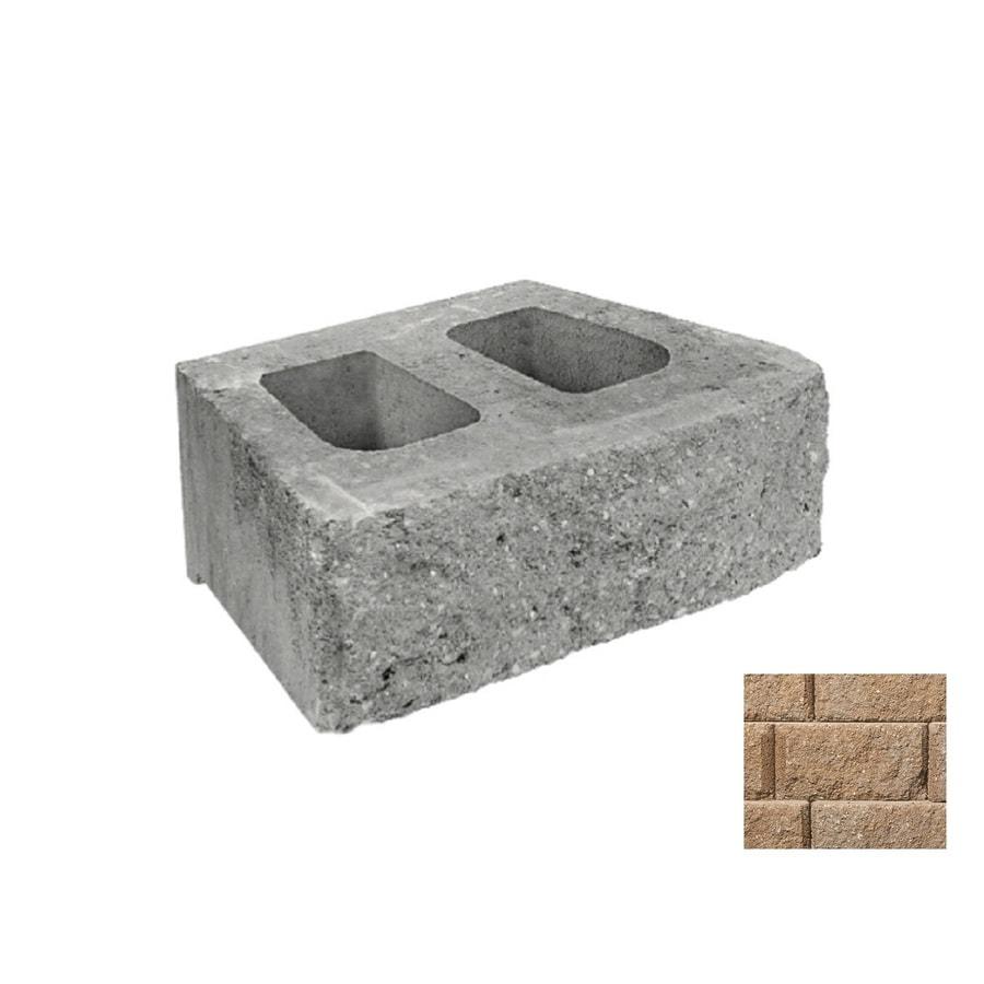 Belgard Diamond Gascony Tan Retaining Wall Block (Common: 6-in x 18-in; Actual: 6-in x 17.75-in)