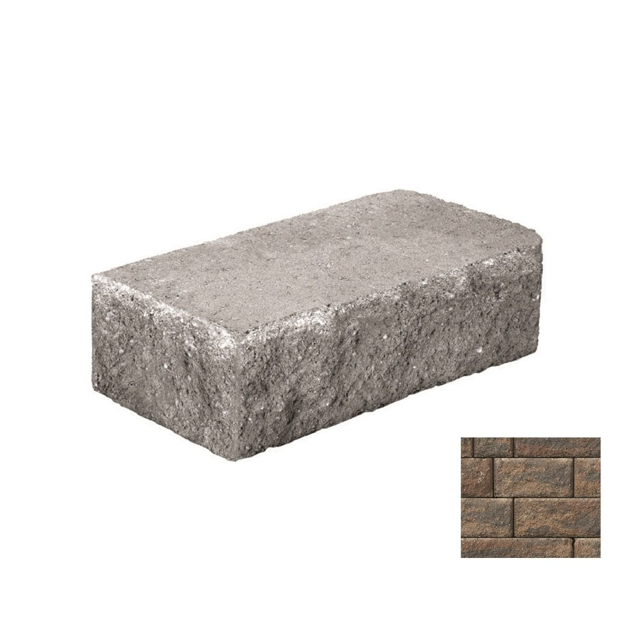 Belgard Anchor Highland Ashbury Haze Retaining Wall Block (Common: 6-in x 18-in; Actual: 6-in x 18-in)