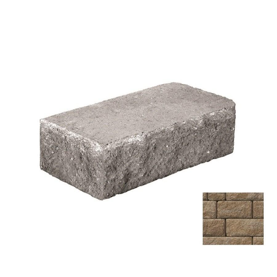 Belgard Anchor Highland Gascony Tan Retaining Wall Block (Common: 6-in x 18-in; Actual: 6-in x 18-in)
