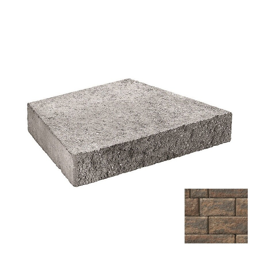 Belgard Anchor Highland Ashbury Haze Retaining Wall Cap (Common: 3-in x 2-in; Actual: 3-in x 1.8-in)