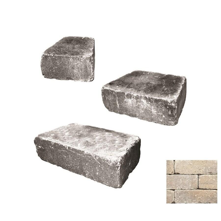 Belgard Weston Cotswold Mist Retaining Wall Block (Common: 4-in x 2-in; Actual: 4-in x 1.6-in)