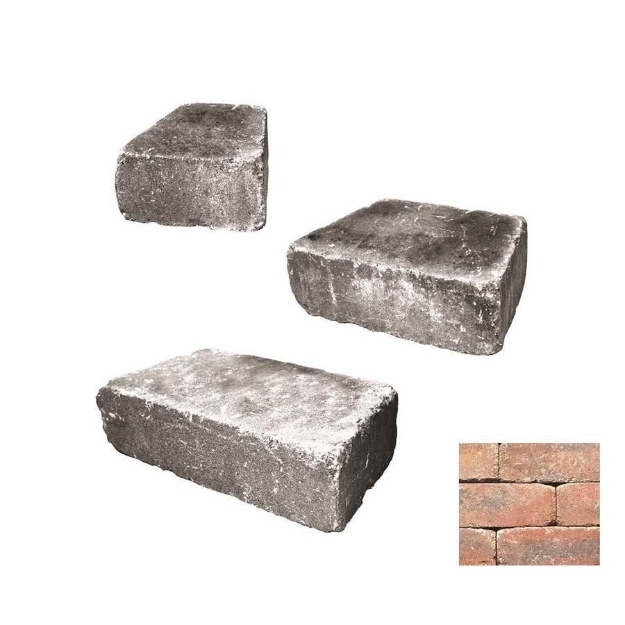 Belgard Weston Monroe Retaining Wall Block (Common: 4-in x 2-in; Actual: 4-in x 1.6-in)