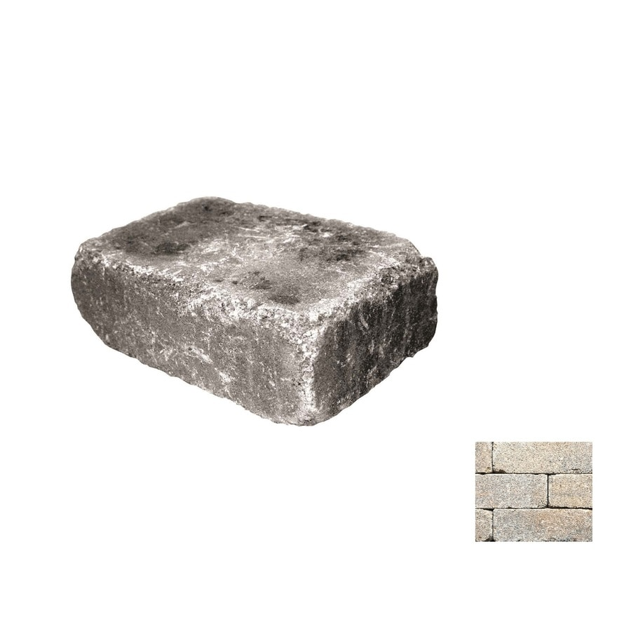 Belgard Weston Cotswold Mist Retaining Wall Block (Common: 4-in x 12-in; Actual: 4-in x 12-in)