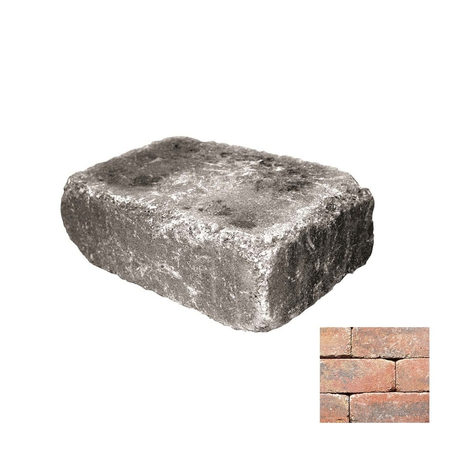 Belgard Weston Monroe Retaining Wall Block (Common: 4-in x 12-in; Actual: 4-in x 12-in)