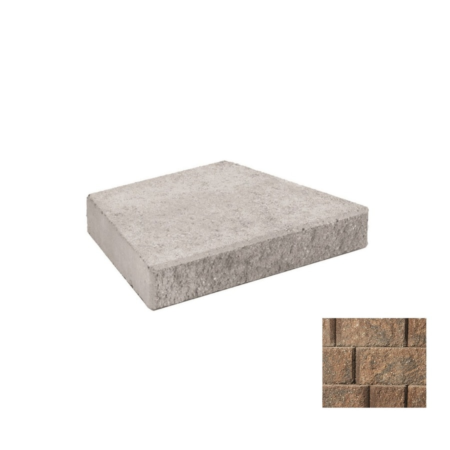 Anchor Diamond Gascony Tan Retaining Wall Cap (Common: 3-in x 18-in; Actual: 3-in x 18-in)