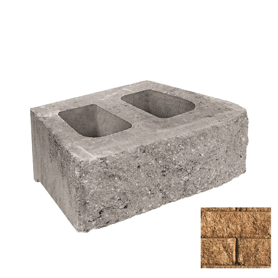 Belgard Anchor Diamond Sandstone Retaining Wall Block Common 6 In X 18