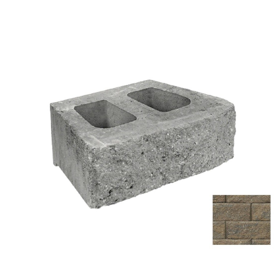 Belgard Anchor Diamond Sheffield Retaining Wall Block (Common: 6-in x 17-in; Actual: 6-in x 17.75-in)