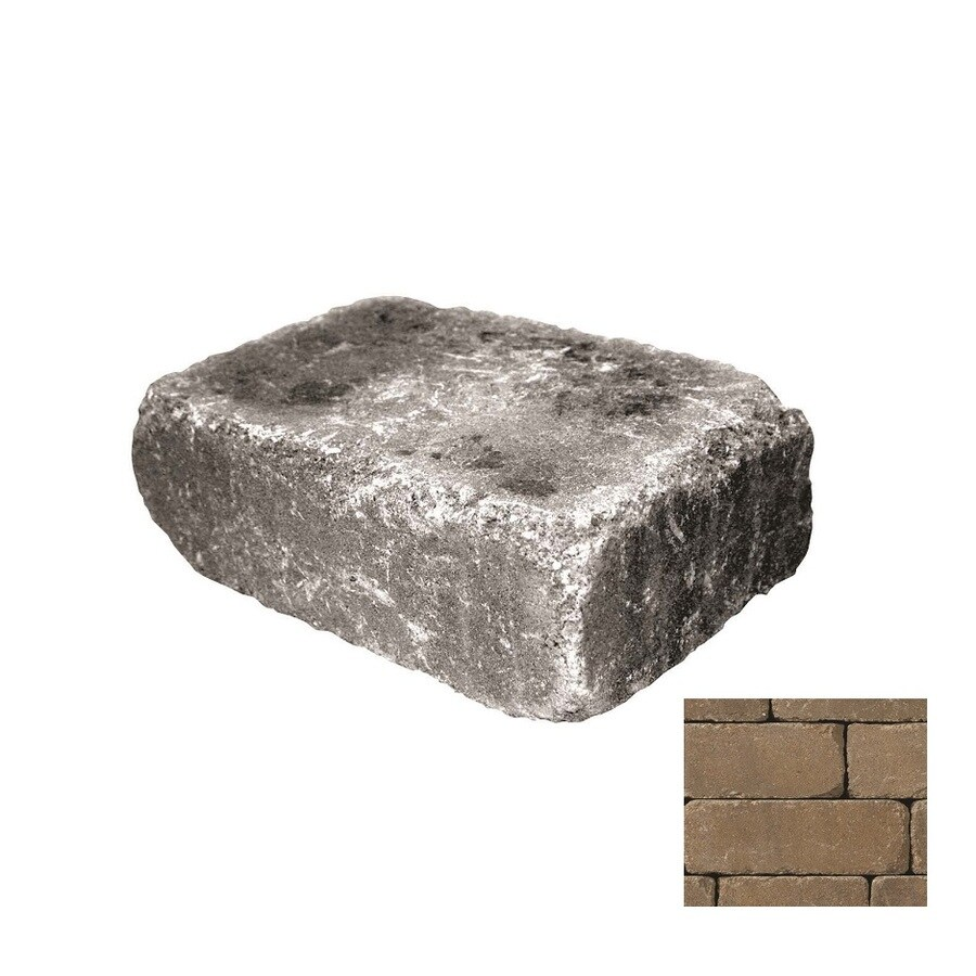 Belgard Weston Gascony Retaining Wall Block (Common: 4-in x 12-in; Actual: 4-in x 12-in)